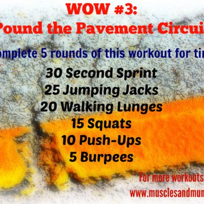 Workout of the Week #3
