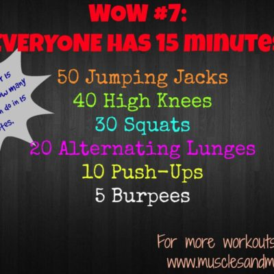 Workout of the Week #7