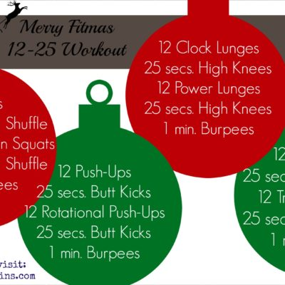 Merry Fitmas {A Holiday Workout}