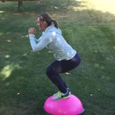 Five Favorite BOSU Exercises + A Workout